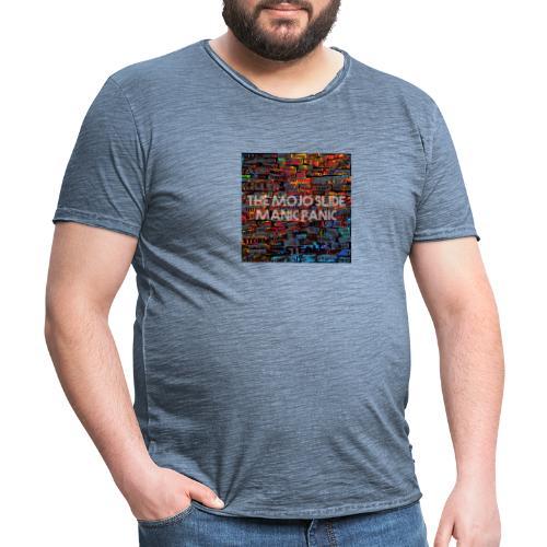 Manic Panic - Design 1 - Men's Vintage T-Shirt