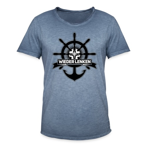 56CD9472-4879-4AF4-82A4-7 - Männer Vintage T-Shirt