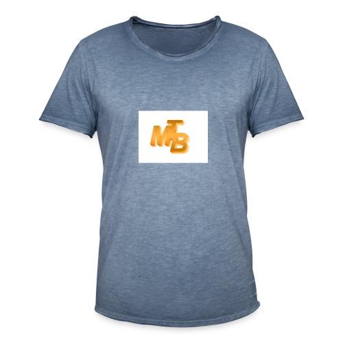 mtb logo gold - Männer Vintage T-Shirt