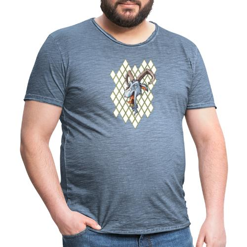 blauer bock - Männer Vintage T-Shirt