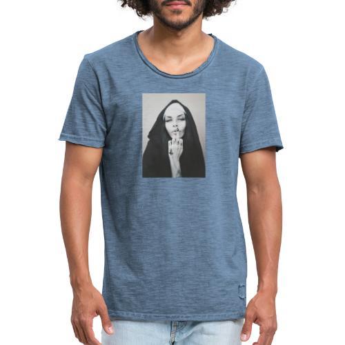 finger - Camiseta vintage hombre