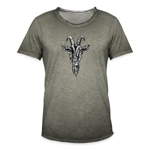 Goat - Vintage-T-skjorte for menn