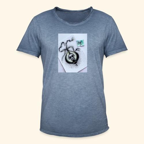 Poison design dark - Camiseta vintage hombre