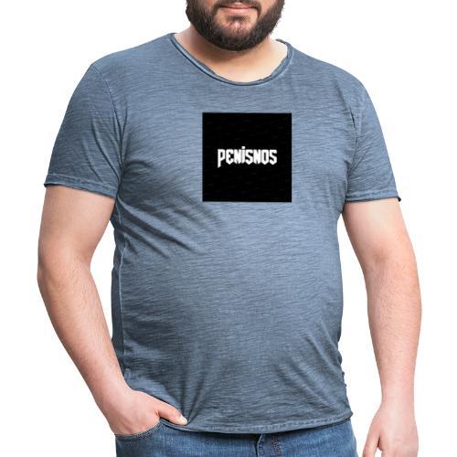 Peninos 3.0 - Vintage-T-shirt herr
