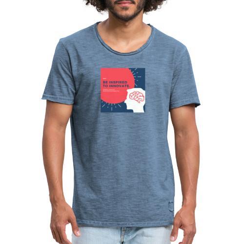 Inteligencia - Camiseta vintage hombre