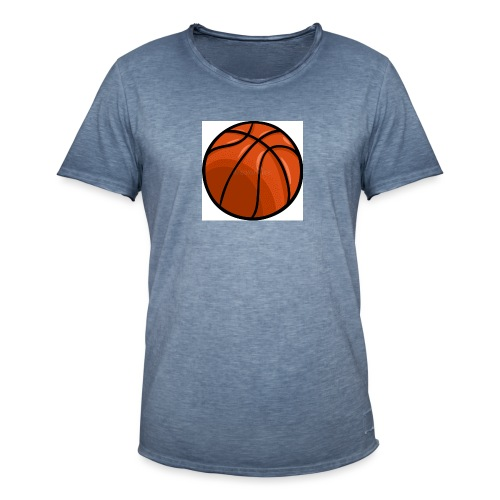 softer kevin k basket - Vintage-T-shirt herr