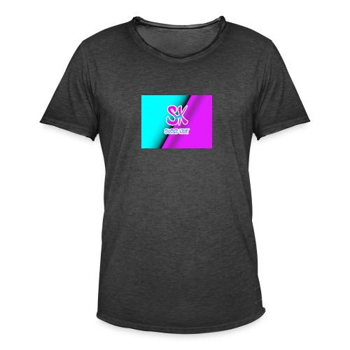 Sk Shirt - Mannen Vintage T-shirt