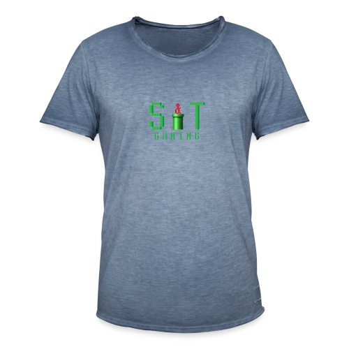 ST Mario Red - Men's Vintage T-Shirt