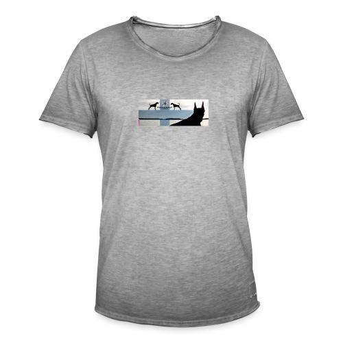 FBtausta - Miesten vintage t-paita