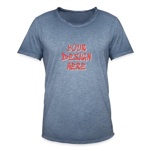 textfx - Vintage-T-shirt herr