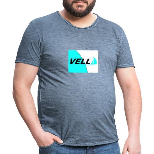 duo tono vella - Camiseta vintage hombre