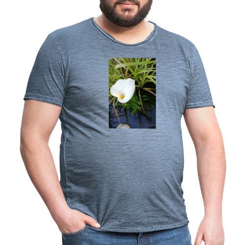 Wasserblume CALA - Männer Vintage T-Shirt