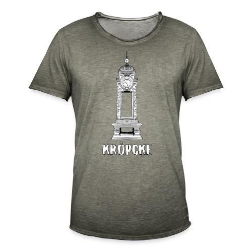 Hannover Kröpcke Uhr - Männer Vintage T-Shirt