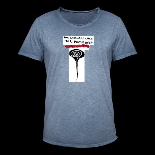 schwarzes lochohne signatur - Männer Vintage T-Shirt
