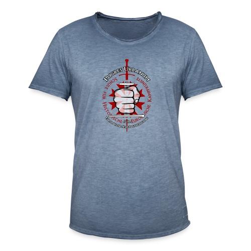 Logo frei PUR mitWa trans - Männer Vintage T-Shirt