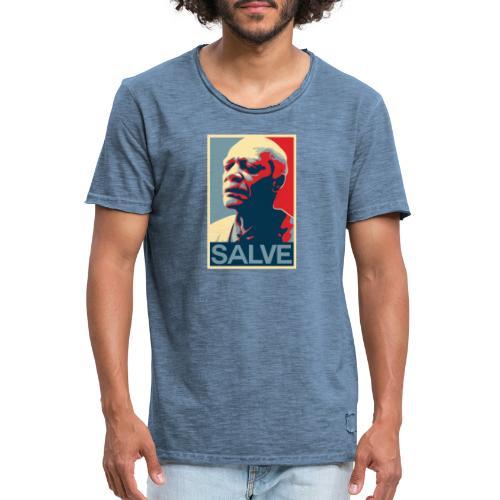 Salve series - Mestre Pastinha - Men's Vintage T-Shirt