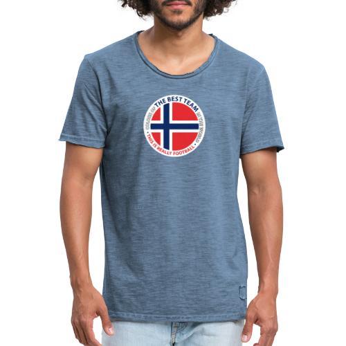 Norway Best Football Team - Men's Vintage T-Shirt