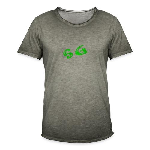 StreamGangster - Mannen Vintage T-shirt
