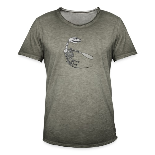 Skeleton Quentin - Men's Vintage T-Shirt