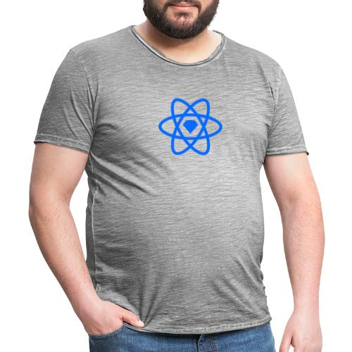 Sketch2React Logo Blue - Men's Vintage T-Shirt