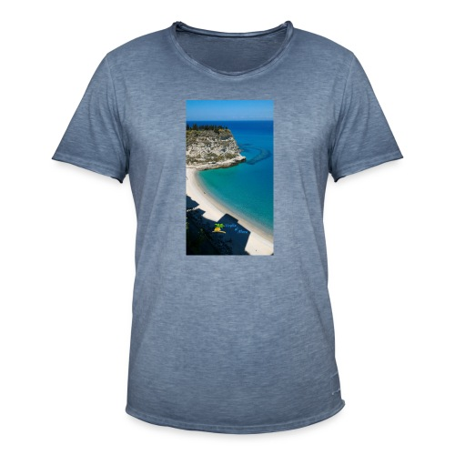 Tropea isola - Maglietta vintage da uomo