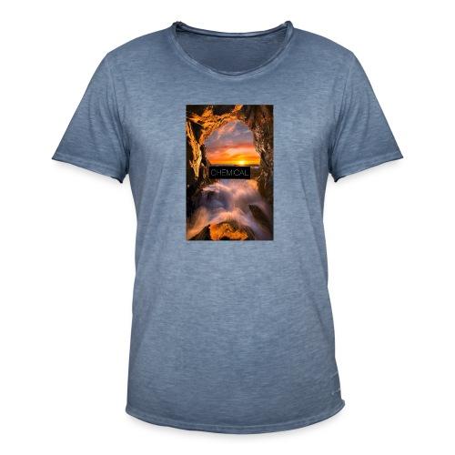 Cascata - Maglietta vintage da uomo