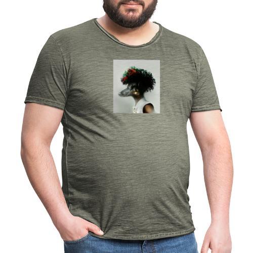 pini punk - Männer Vintage T-Shirt
