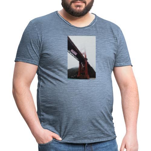 Golden Gate - Men's Vintage T-Shirt