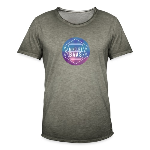 MindLift BAAS - Mannen Vintage T-shirt