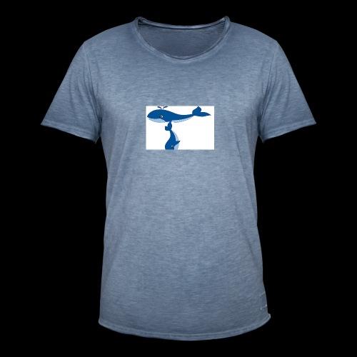 whale t - Men's Vintage T-Shirt