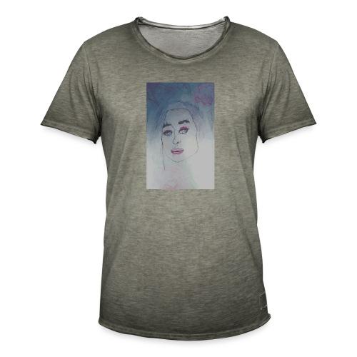 cubismn - Camiseta vintage hombre