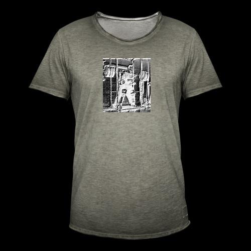 Squat! Get Strong! - Miesten vintage t-paita