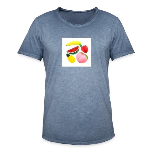 Frukt - Vintage-T-shirt herr