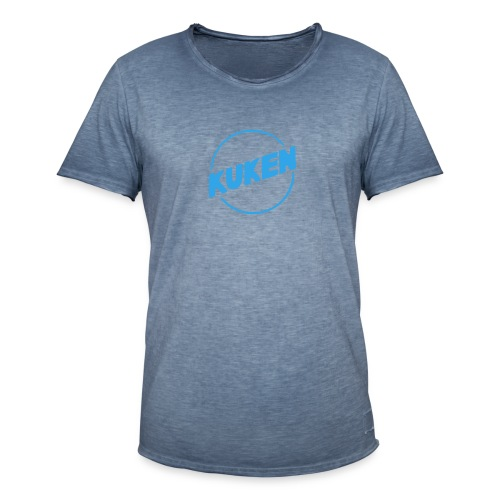 Kuken - Vintage-T-shirt herr