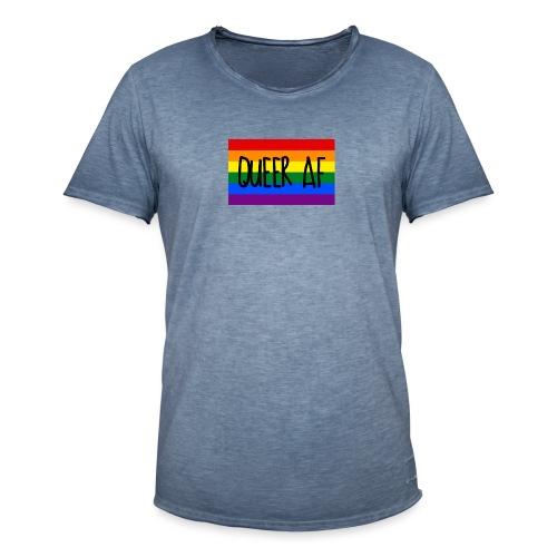 queer af - Männer Vintage T-Shirt