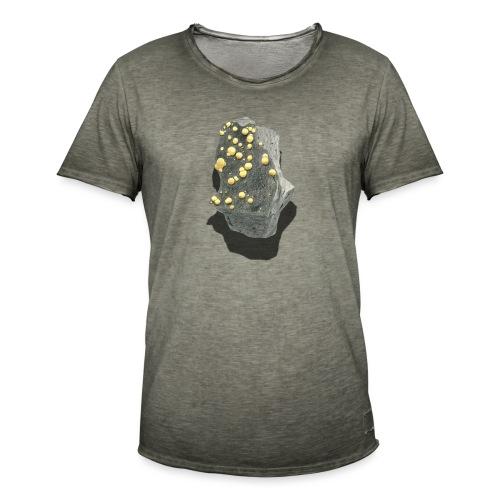 Kugelcalcit - Männer Vintage T-Shirt