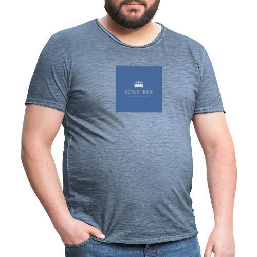 konstrex - Herre vintage T-shirt