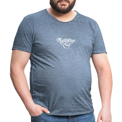 MIARTESTUYO - Camiseta vintage hombre