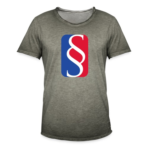 Law League - Männer Vintage T-Shirt