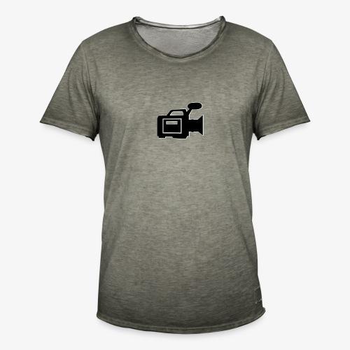 camera - Herre vintage T-shirt
