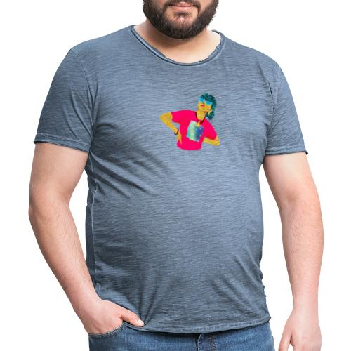 kig op - Herre vintage T-shirt