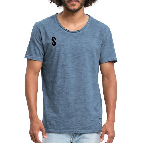 SYNT LOGO - Mannen Vintage T-shirt