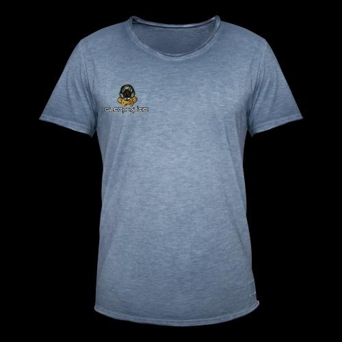GLOOM MUSIC LOGO COLOR - Men's Vintage T-Shirt