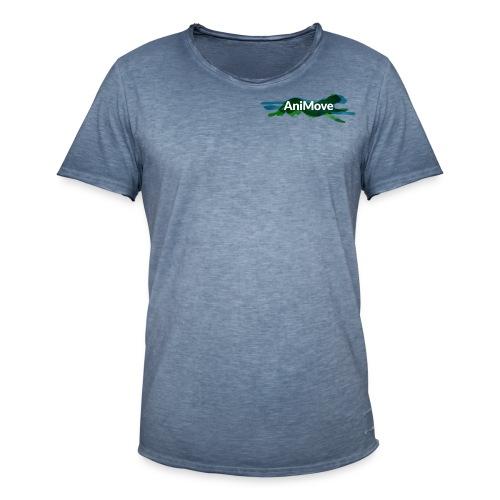 AniMove org logo trans - Men's Vintage T-Shirt