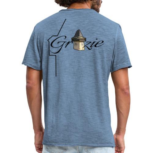 Grazie Line - Männer Vintage T-Shirt