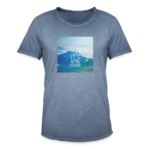 T-ShirtQlegendary-edit - Männer Vintage T-Shirt