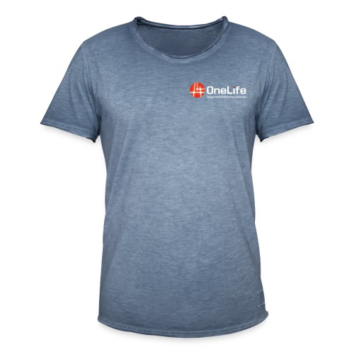 onelife ima logo dark bac - Men's Vintage T-Shirt