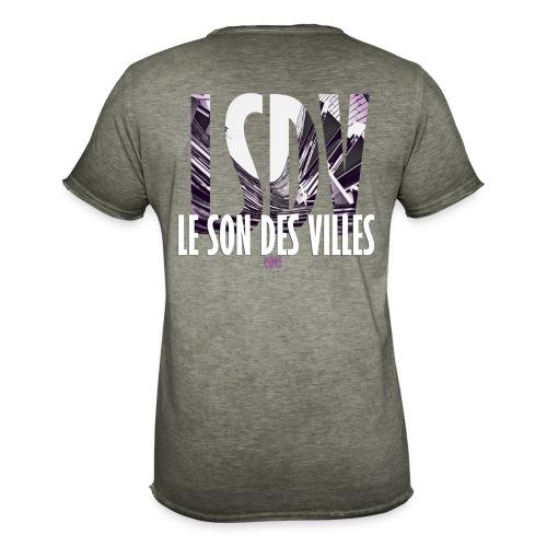 Le Son Des Villes : Ondes - T-shirt vintage Homme