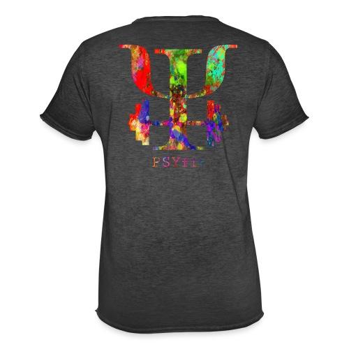 Watercolour splatter - Men's Vintage T-Shirt