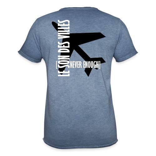 Le Son Des Villes Avion - T-shirt vintage Homme